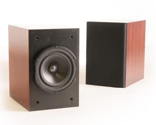 Caixas Mini Monitores Vandersteen VLR Wood